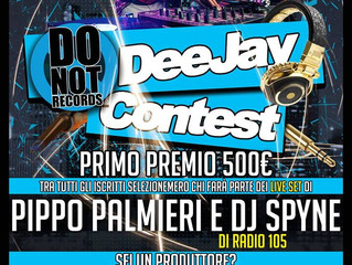 Do Not Deejay Contest 2017 - Iscrizioni Aperte!!!