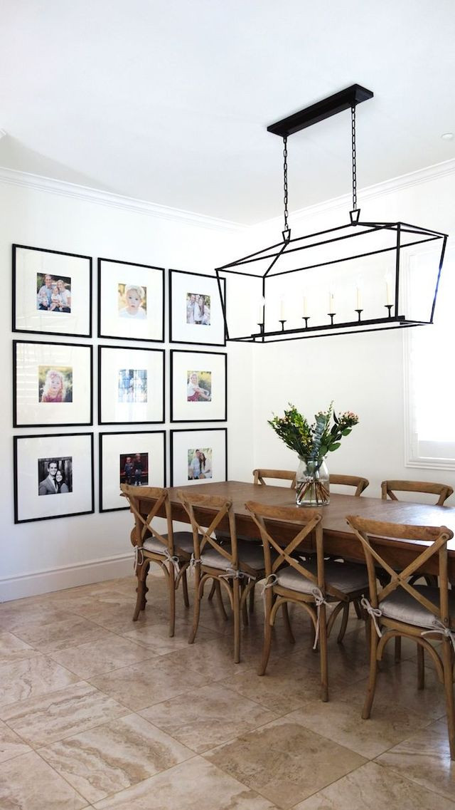 Creating a Dining Room Statement Wall