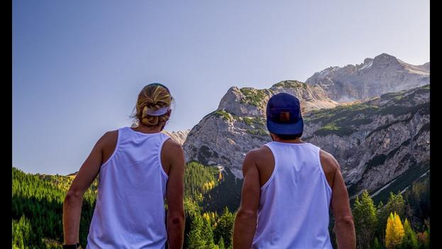 Running the Bavarian Mountains