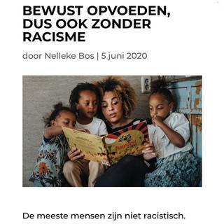 Artikel: bewust opvoeden, dus ook zonder racisme