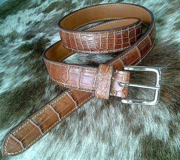 38mm West End Nile Tan Belt