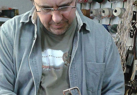 Andy stitching