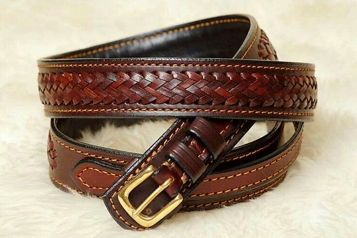 Serengeti Ranger belt dark brown