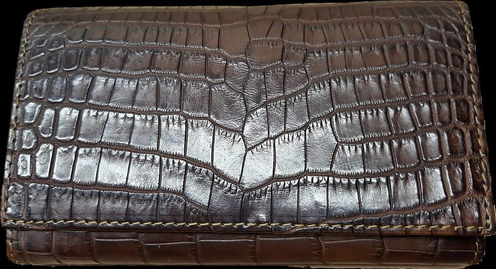 Luca Nile Crocodile Purse