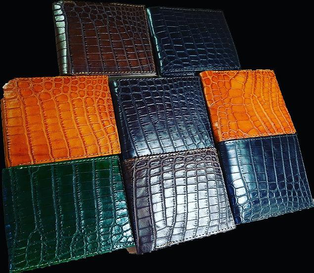 Nile Crocodile Men's Bifold Wallet