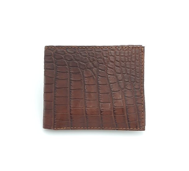 Our Sabie Bifold Nile Crocodile Belly Wallet.