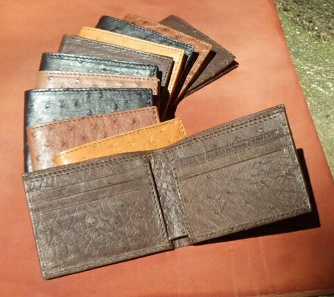 Ostrich Leather Gentleman's Wallets