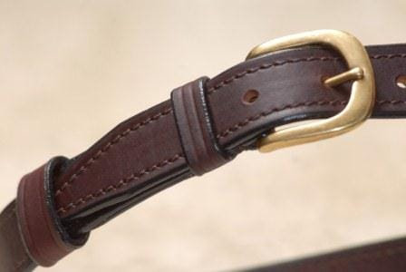 Lined 32mm Buckle hand stitched down Belt