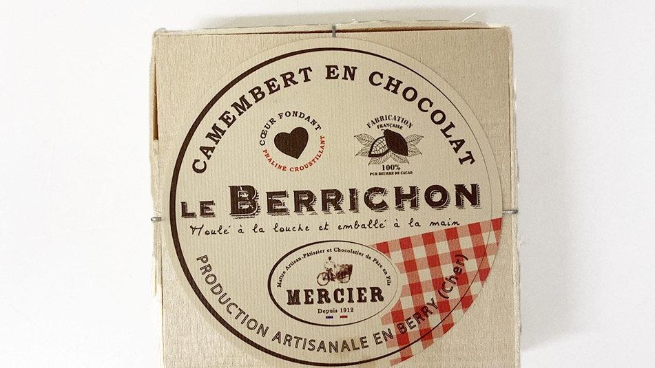 Mini camembert en chocolat le Berrichon