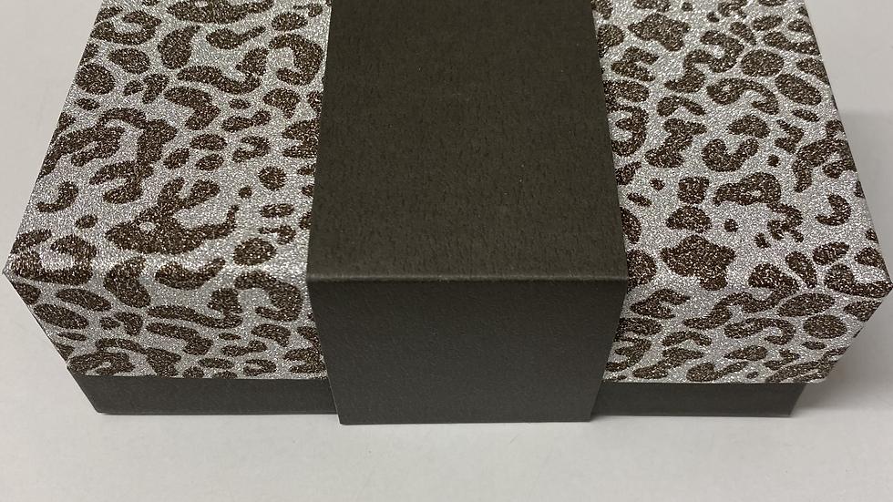 Boite mélange de chocolats léopard