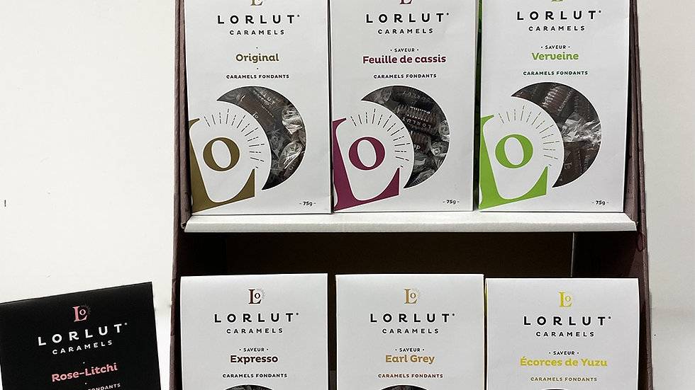 Caramels fondants Lorlut