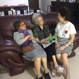 2017 Visit to Phyllis Chin