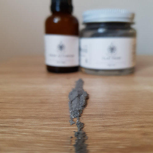 Purity Face Mask - Bentonite+Activated Charcoal+Kaolin Clay