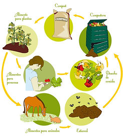 taller de compostaje en la provincia de leon
