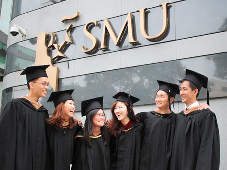 SMU Graduation Photoshoot