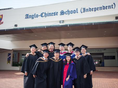 Graduation Photoshoot back at ACS