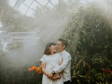 A Different Kind of Lens - Maternity Shoot at Gardens by the Bay