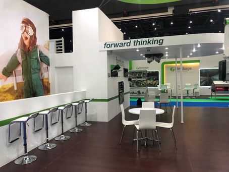 Fancom stand 96m2 @ VIV 2019 Bangkok Thailand by World Events Asia (Thailand) #Exhibition
