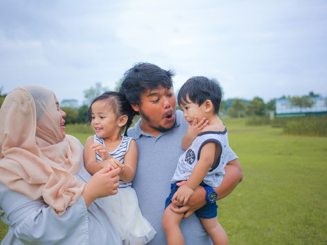 2nd Family Shoot With Aishah and Family!