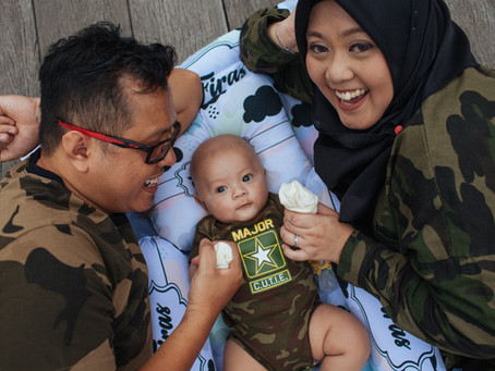 Family photoshoot with Baby Firas!!
