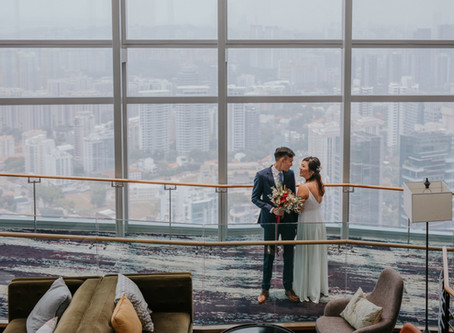 Eric and Ee Leng Solemnisation | Salt Grill and Sky Bar