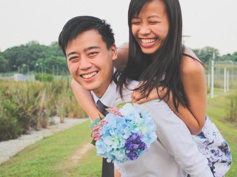 Couple Graduation Photoshoot - Daryl and Sarah