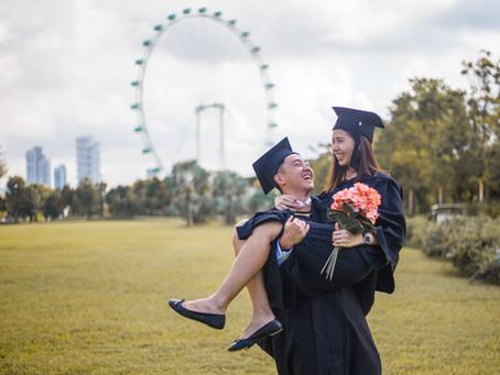 Kevin and Glenda Graduation Photoshoot