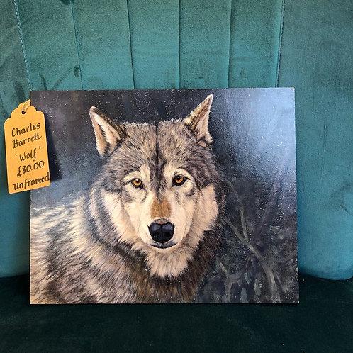 """""""Wolf"""" By Charles Barrett"""