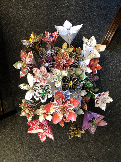 Paper Flowers - Small