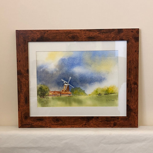 """Norfolk Windmill"" by Kate Williams"