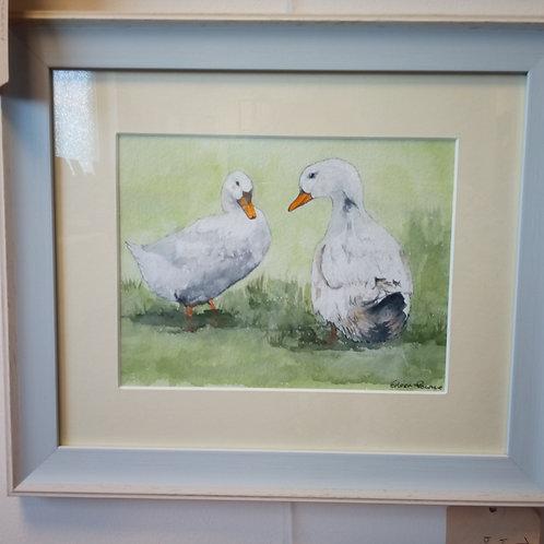 """""""Two Ducks"""" - Eileen Rounce"""