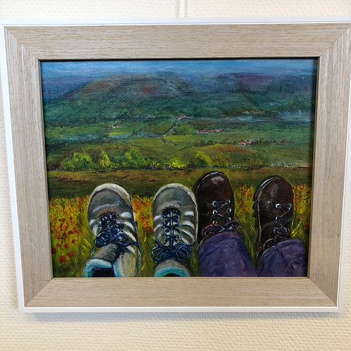 """""""Feet up on the Moors"""" by Betty Poole"""