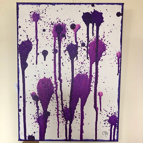 """Spot of Purple""-Mandy Osborn"