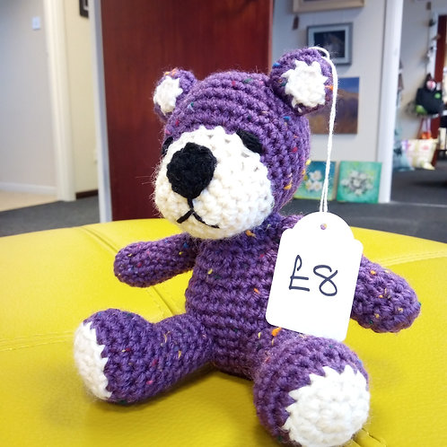 Amigurumi Purple and White Bear