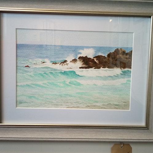 """""""Waves at St. Ives"""" - Joanna Blackburn"""