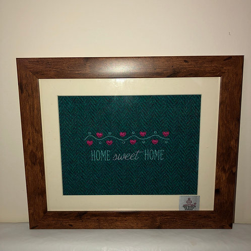 """""""'Home, Sweet Home' on Harris Tweed"""" by the Ridleys"""