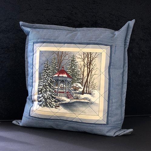 Winter scene cushions