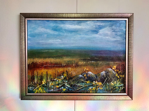 """Marsh and Moorland"" by Betty Poole"