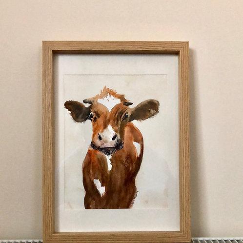 """Cheeky Cow"" - Eileen Rounce"