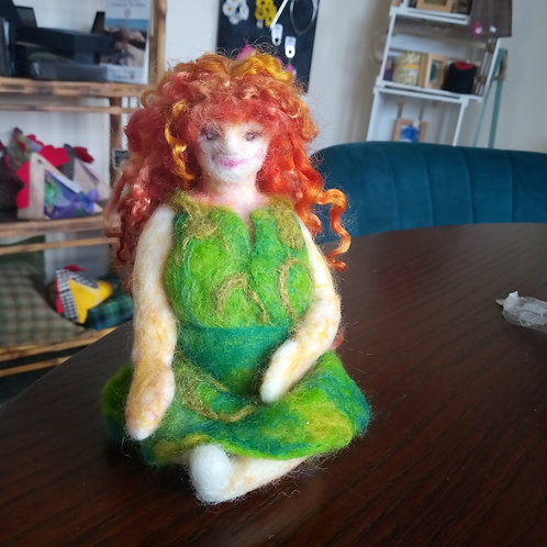 Needle Felted Goddess