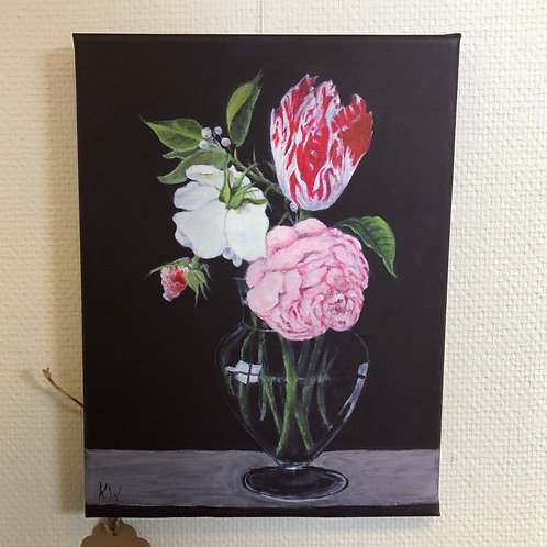 """Flowers in a Vase"" by Kate Williams"