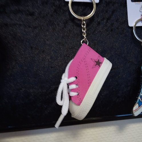 Shoe Keyring (Colour Varies)