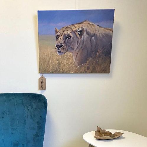 'Masai Mara Lioness'