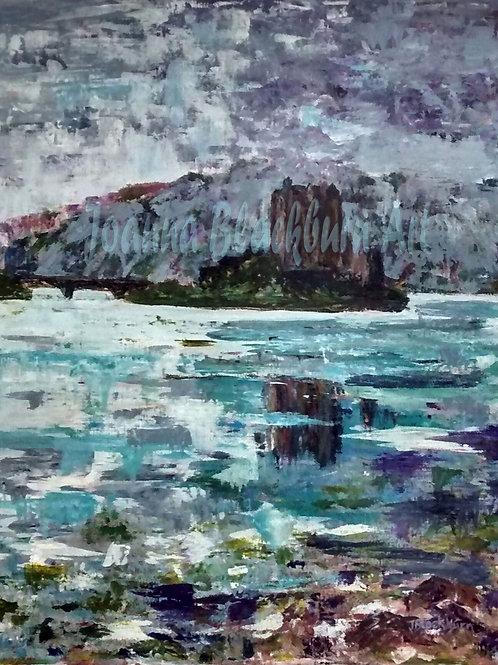 """""""Eileen Donan Castle"""" by Joanna Blackburn"""