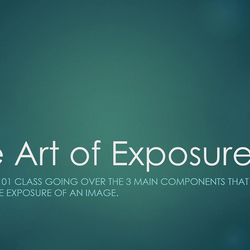 The Art of Exposure, Shooting Manual hosted by Anthony Bencivenga