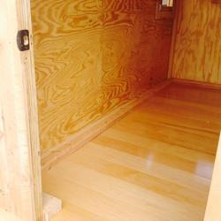 Tiny Wagon Maple Floor