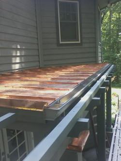 Pergola copper