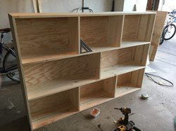 bookshelf pre stain