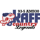KAFF Country 93.5FM (Flagstaff, AZ) March 2014 with Peter Bruce