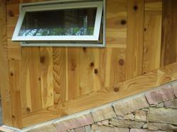 NC cedar meets stone